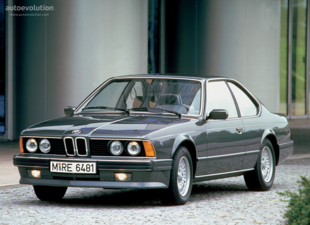 BMW M6 I (E24) 1983 - 1989 Coupe #1