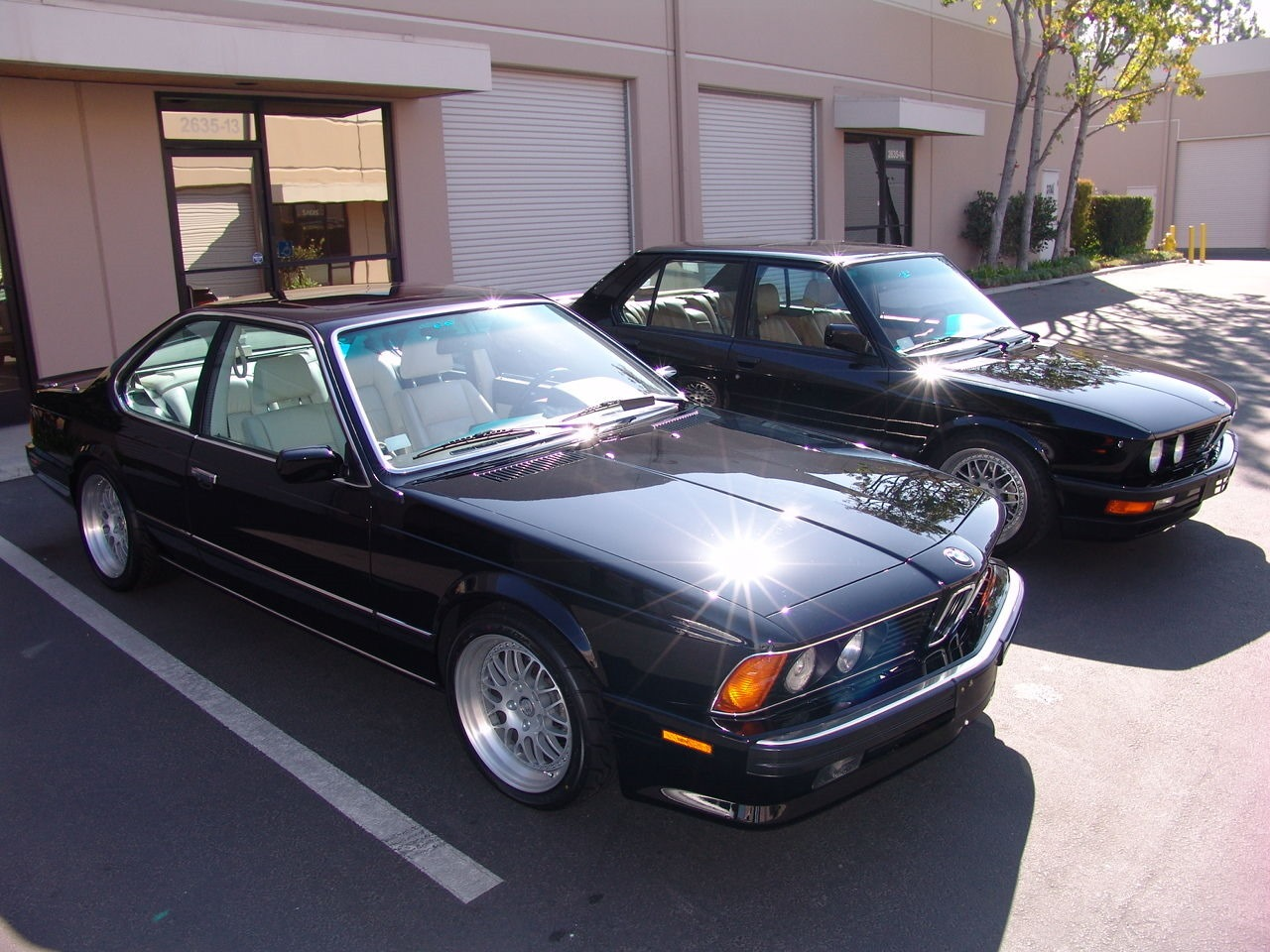 BMW M6 I (E24) 1983 - 1989 Coupe #3