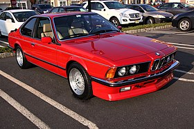 BMW M6 I (E24) 1983 - 1989 Coupe #5