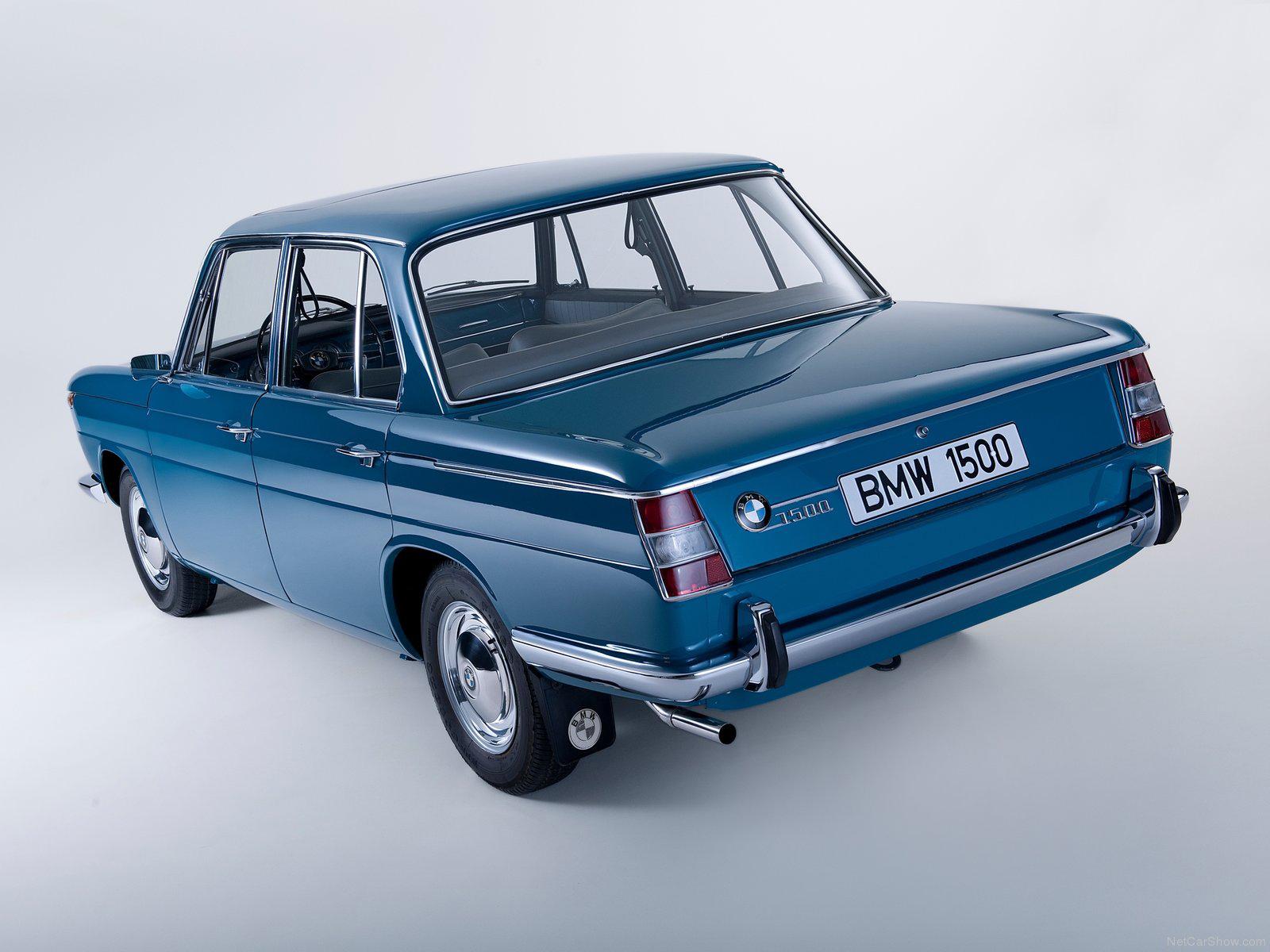 BMW New Class 1500 1962 - 1964 Sedan #6