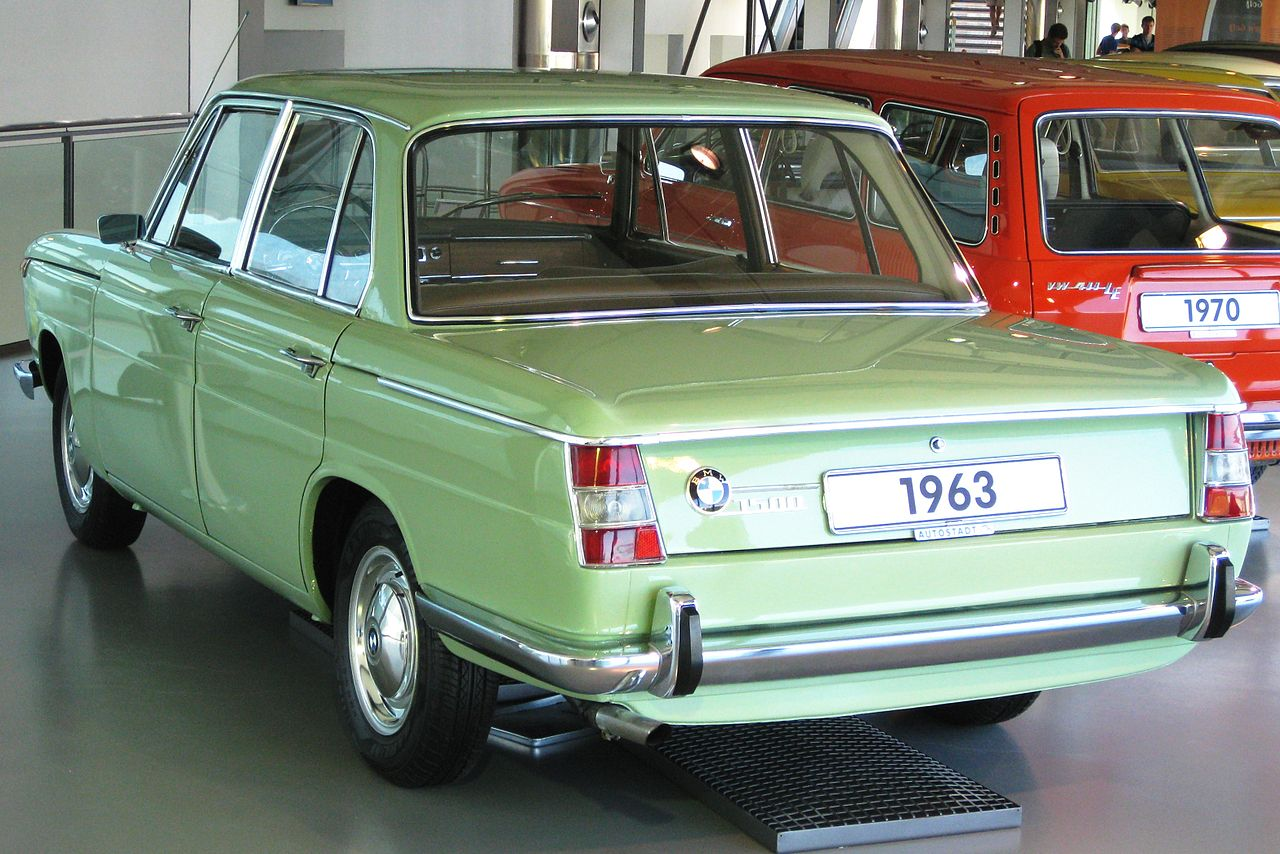 BMW New Class 1500 1962 - 1964 Sedan :: OUTSTANDING CARS