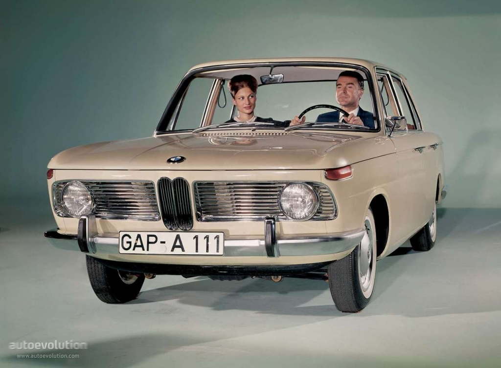 BMW New Class 1500 1962 - 1964 Sedan #8