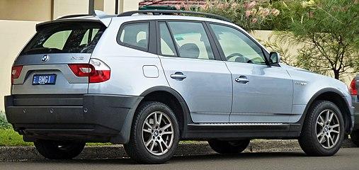 BMW X3 I (E83) 2003 - 2006 SUV 5 door #8