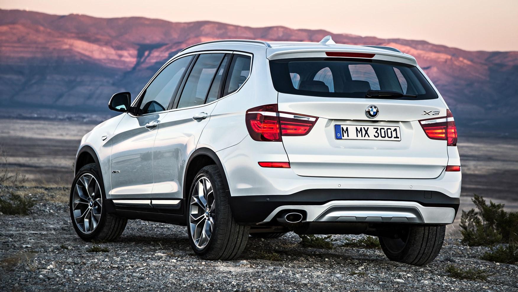 BMW X3 II (F25) Restyling 2014 - now SUV 5 door #4