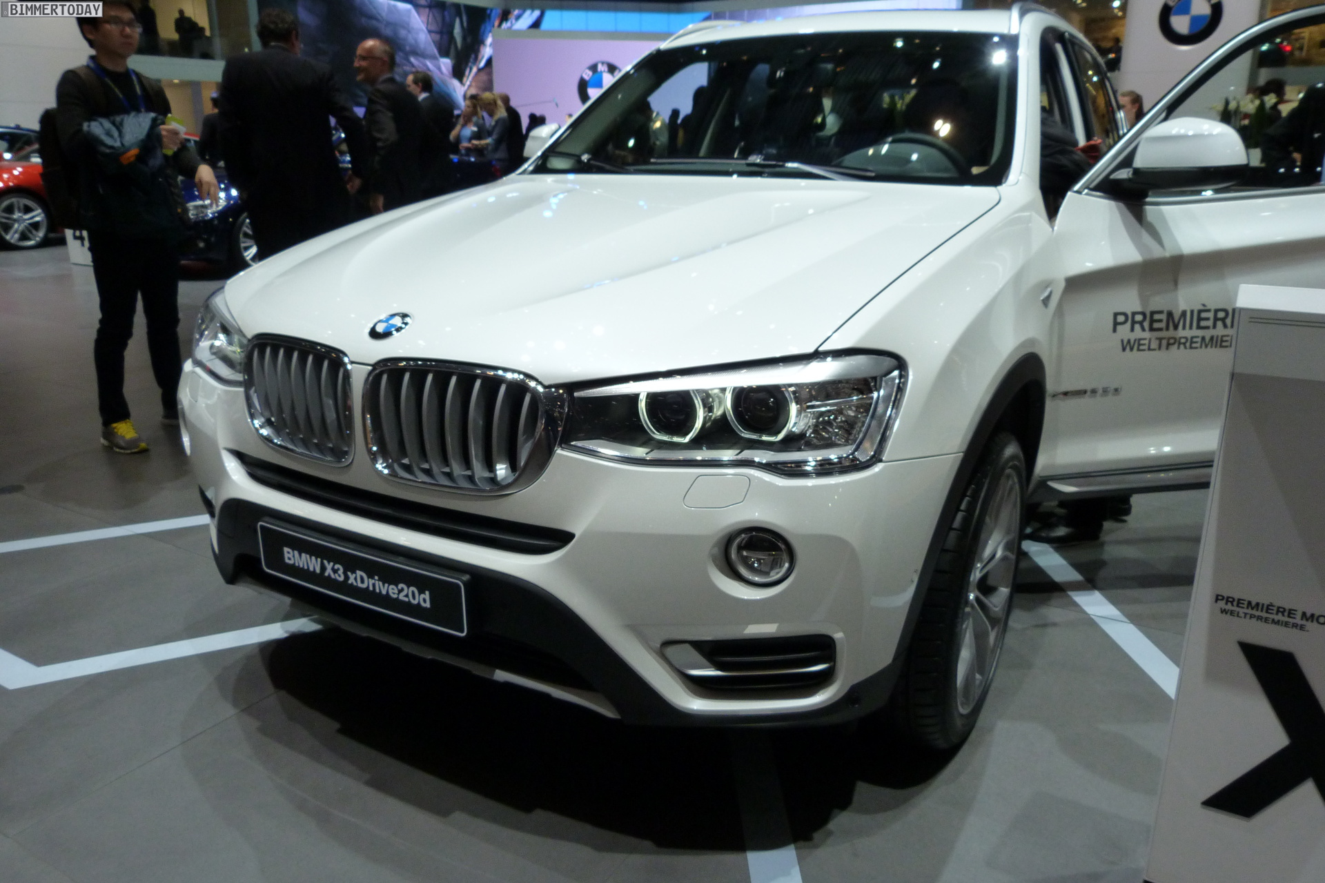 BMW X3 II (F25) Restyling 2014 - now SUV 5 door #2