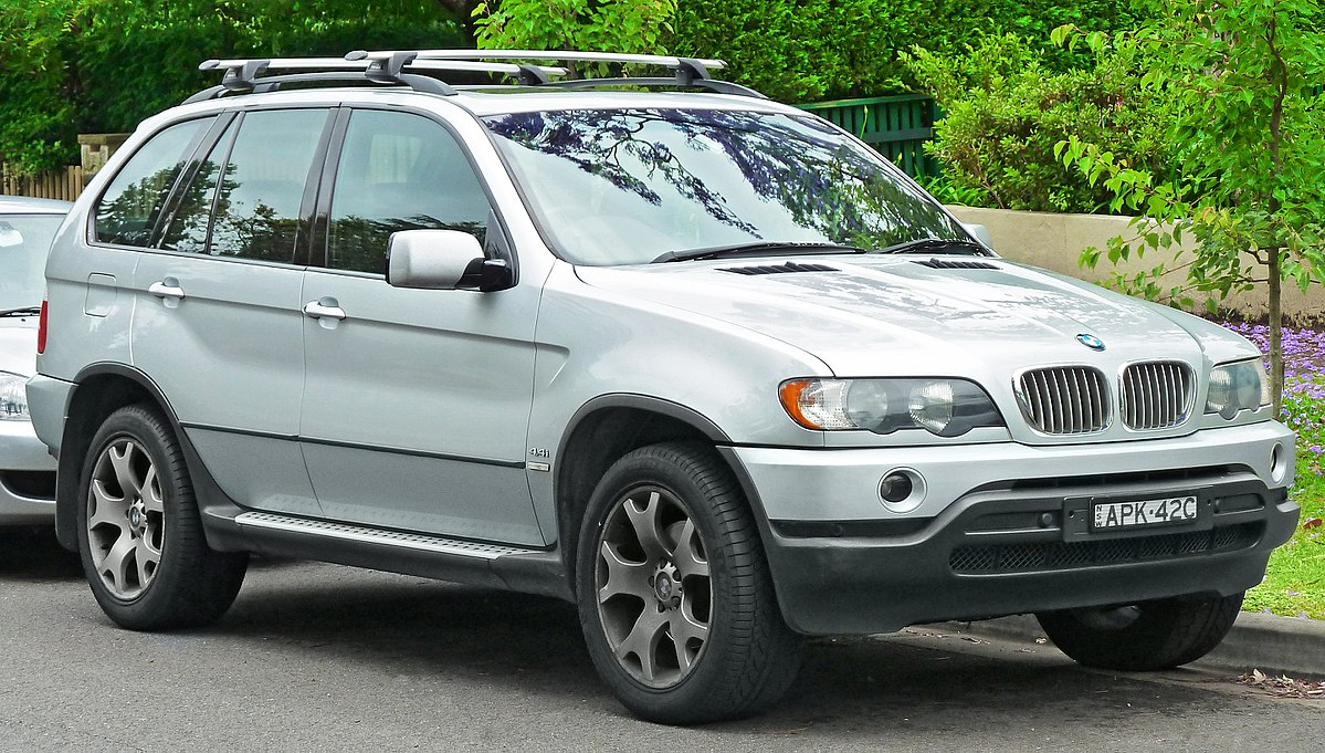BMW X5 I (E53) 1999 - 2003 SUV 5 door #6