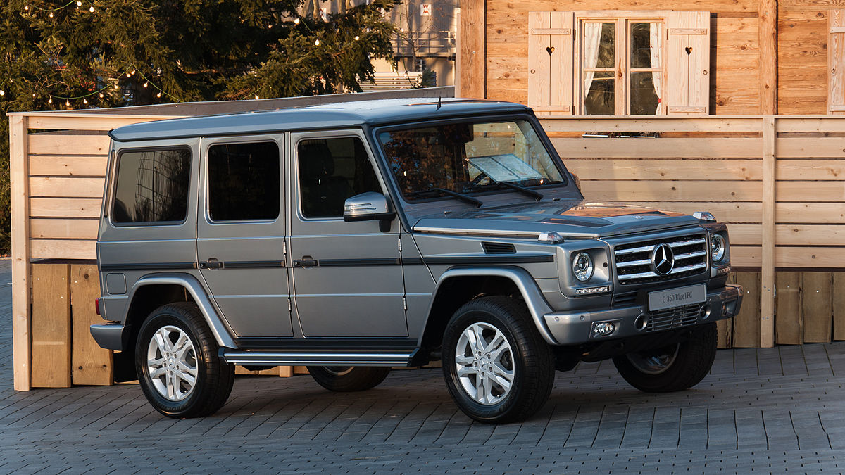 Mercedes-Benz G-klasse II (W463) Restyling 4 2015 - now SUV 5 door #8