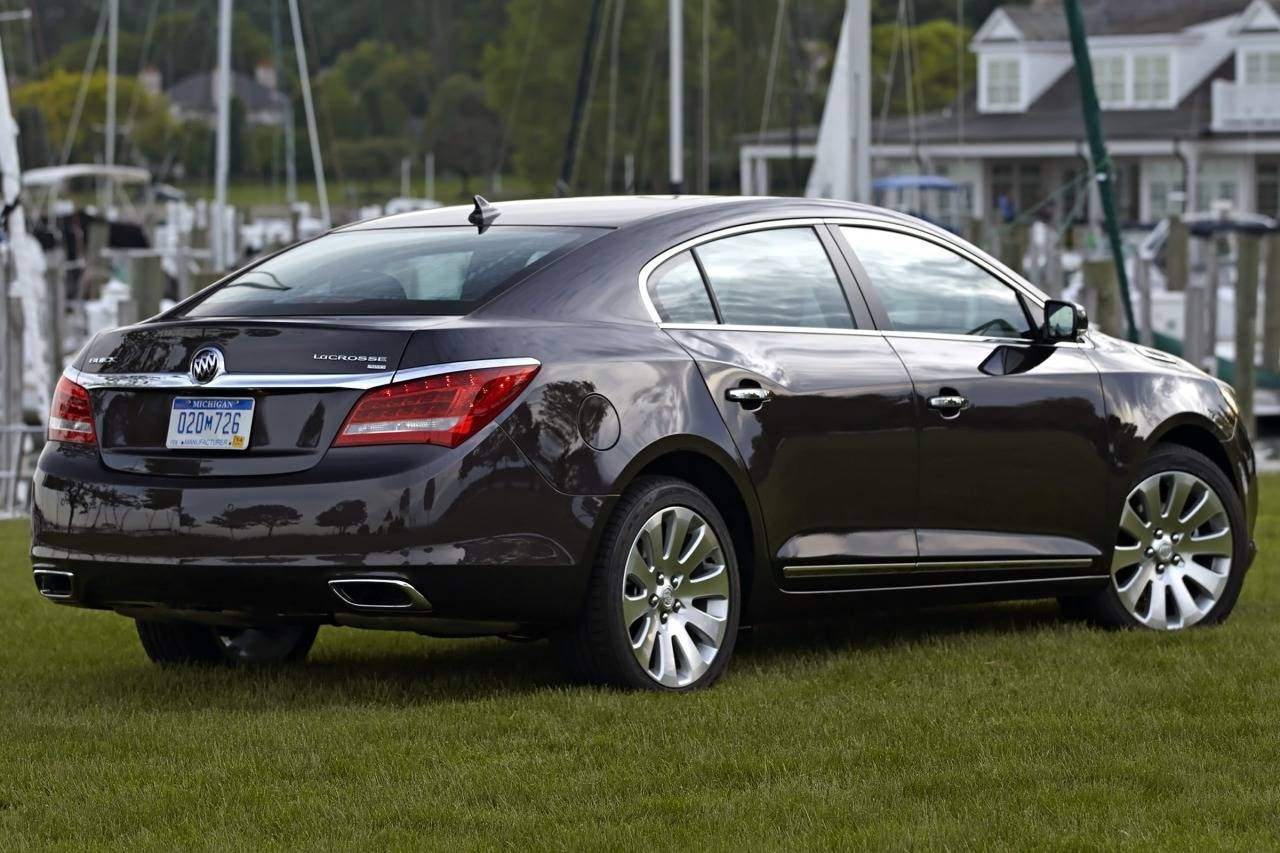buick lacrosse ii 2009 2013 sedan outstanding cars. Black Bedroom Furniture Sets. Home Design Ideas