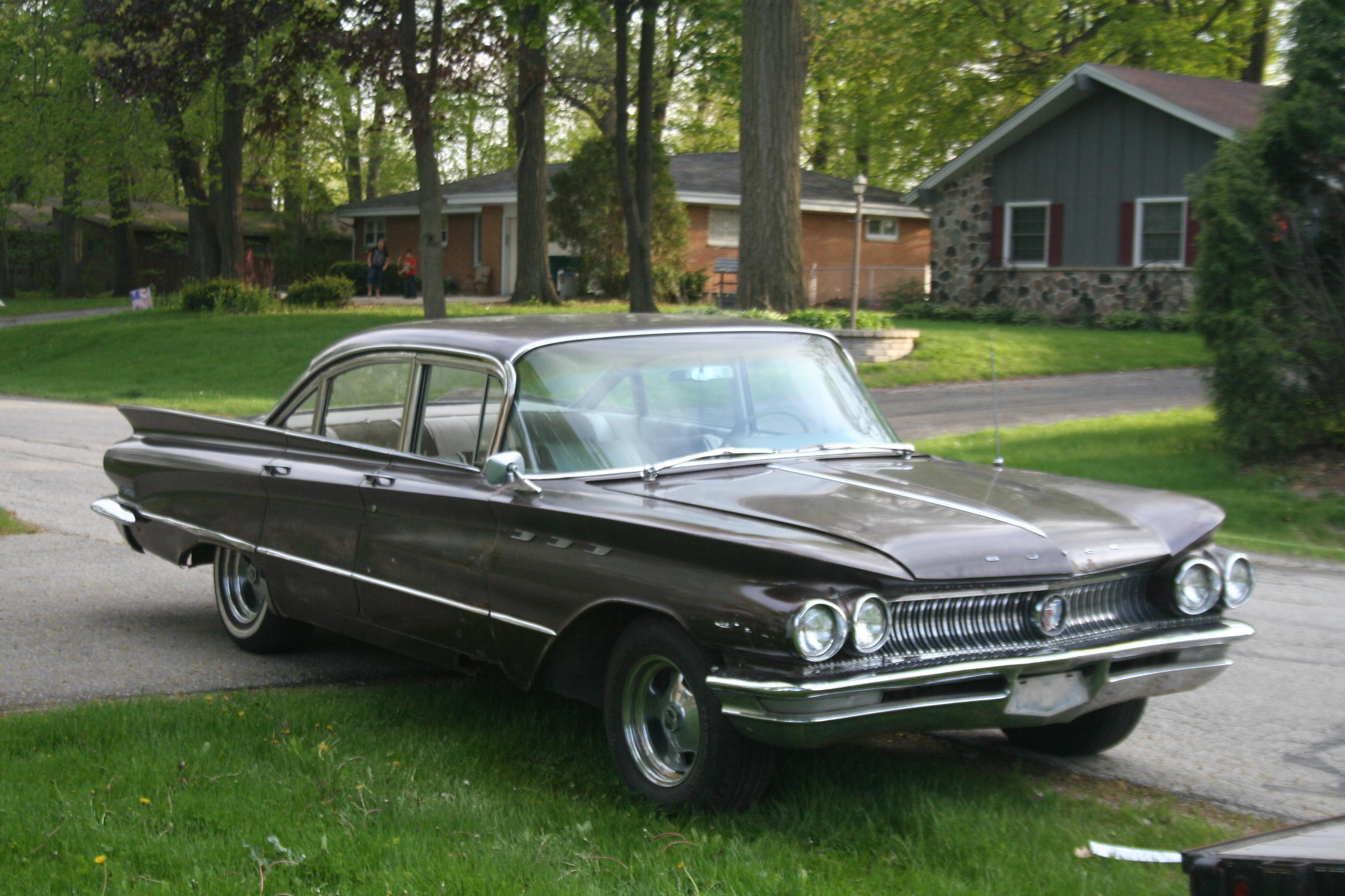 Buick Lesabre I 1959 1960 Sedan Hardtop Outstanding Cars 1950s And 1960s Riviera 4