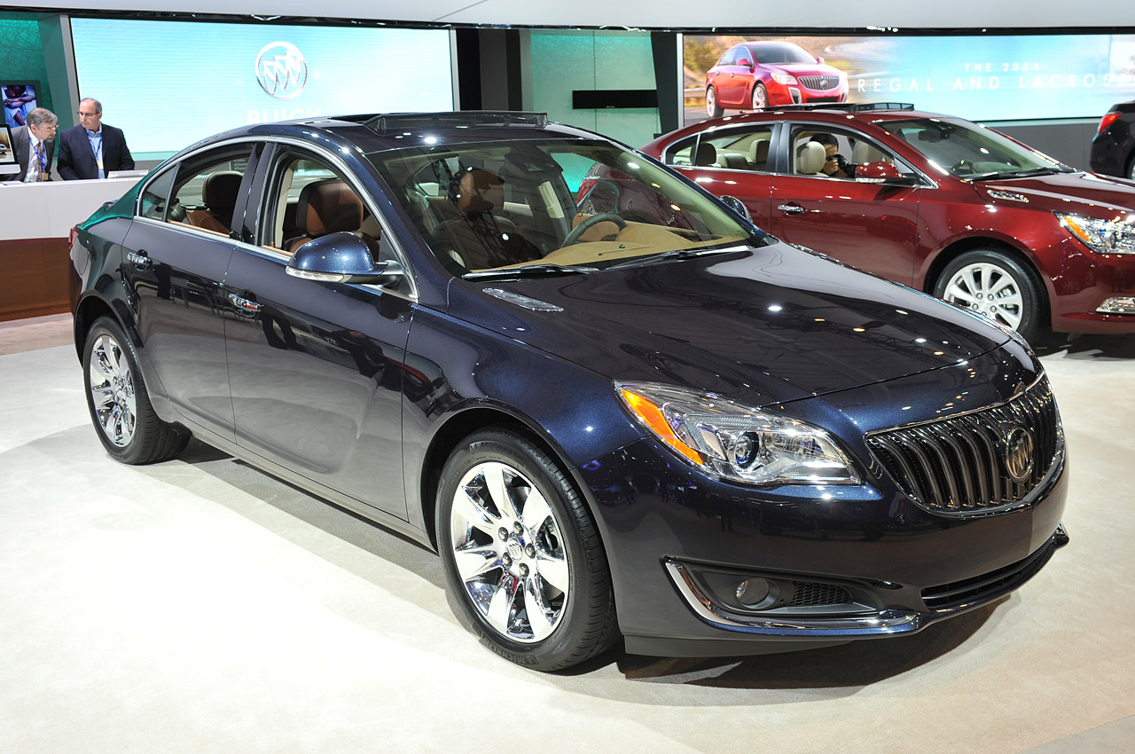 Buick Regal V Restyling 2013 - now Sedan #4