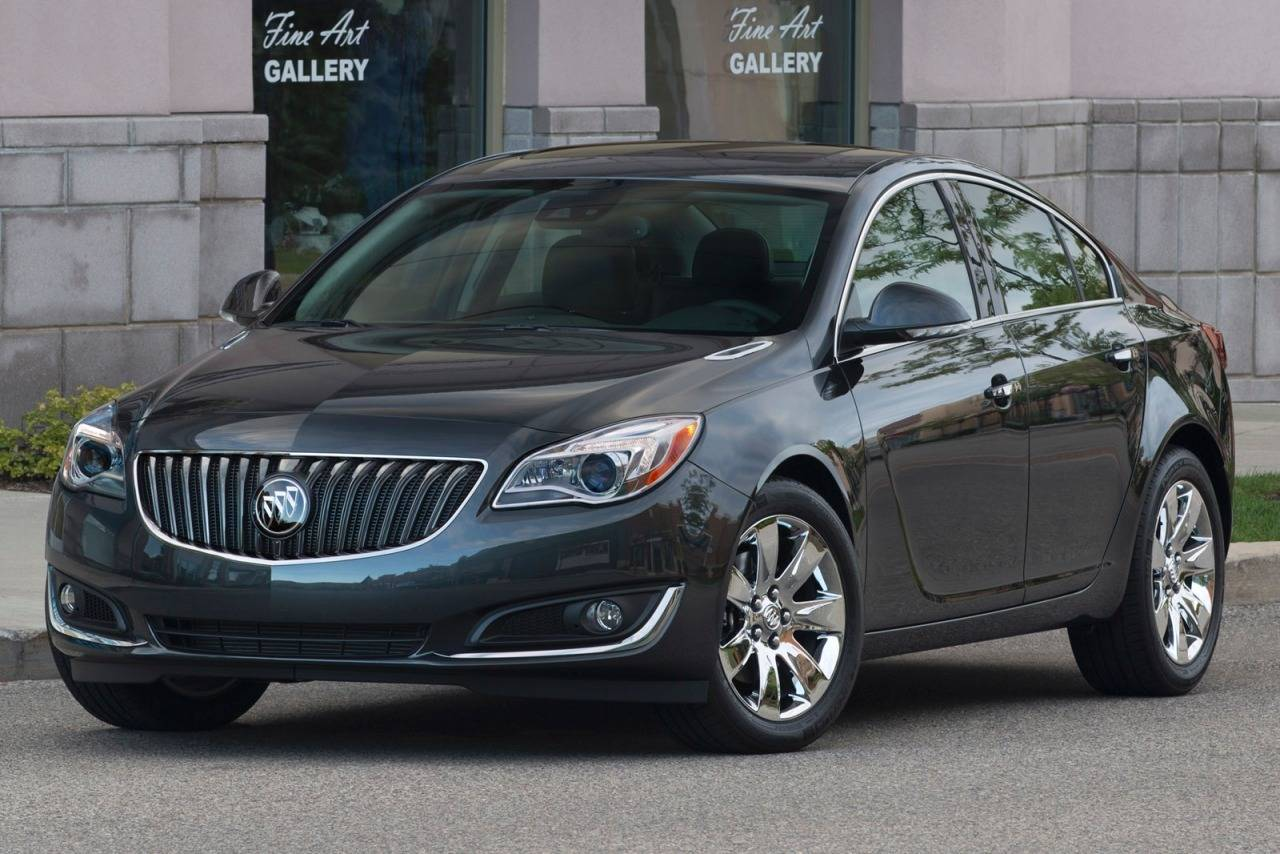 Buick Regal V Restyling 2013 - now Sedan #5