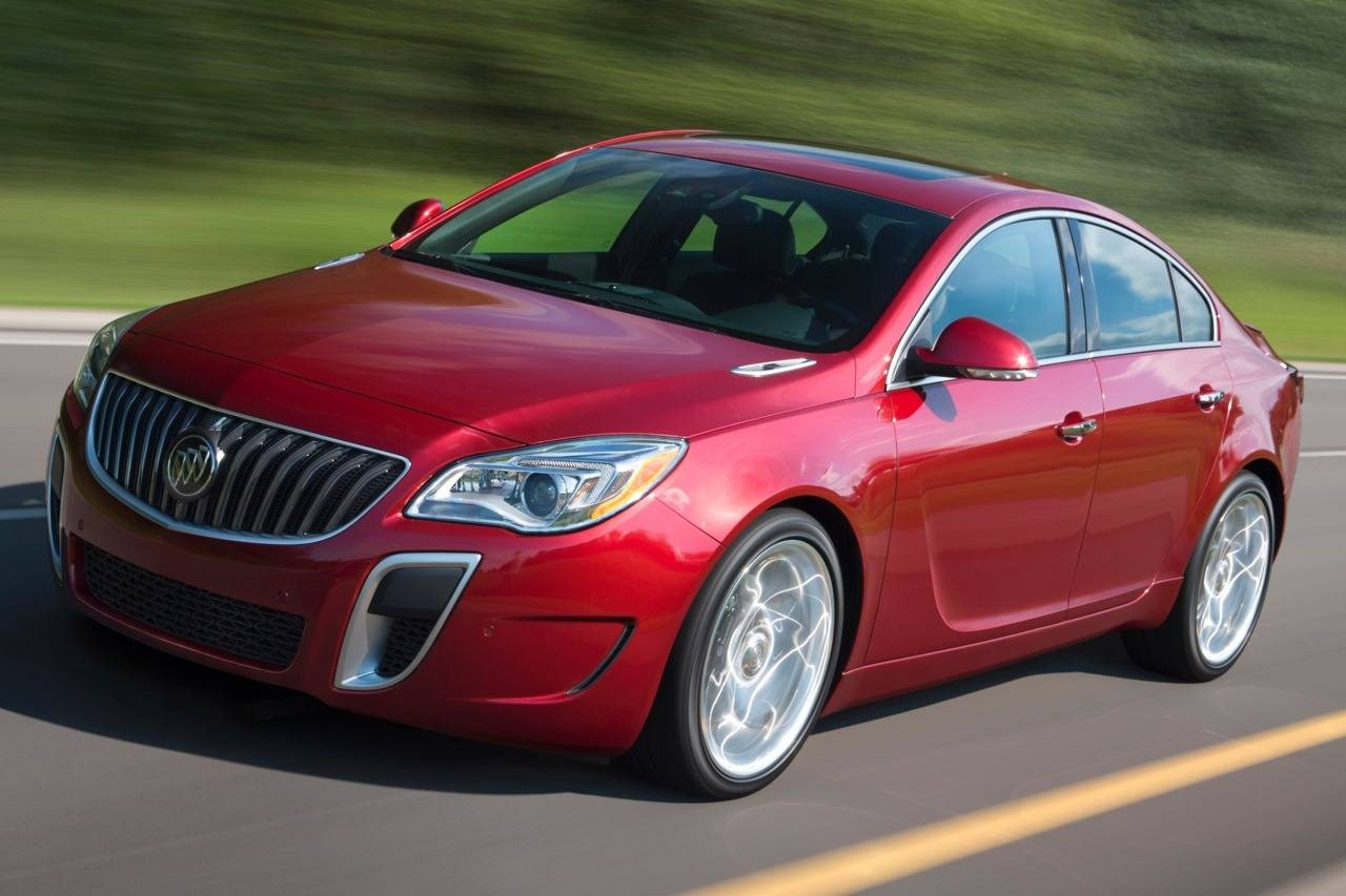 Buick Regal V Restyling 2013 - now Sedan #3