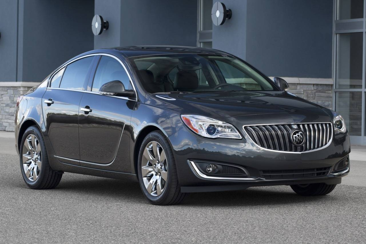 Buick Regal V Restyling 2013 - now Sedan #6