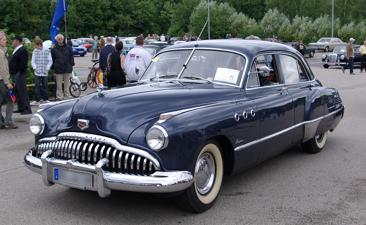 Buick Roadmaster V 1949 - 1953 Sedan 2 door #7