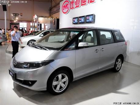 BYD M6 2010 - now Minivan #6