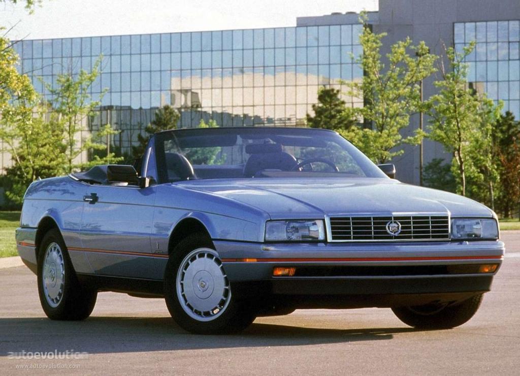 Cadillac Allante 1989 - 1996 Cabriolet #3