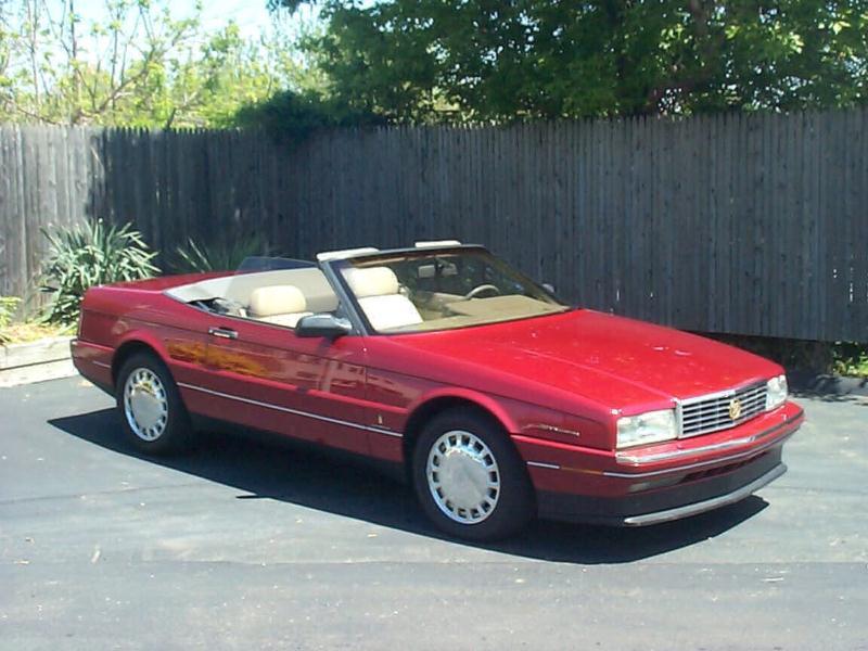 Cadillac Allante 1989 - 1996 Cabriolet #7