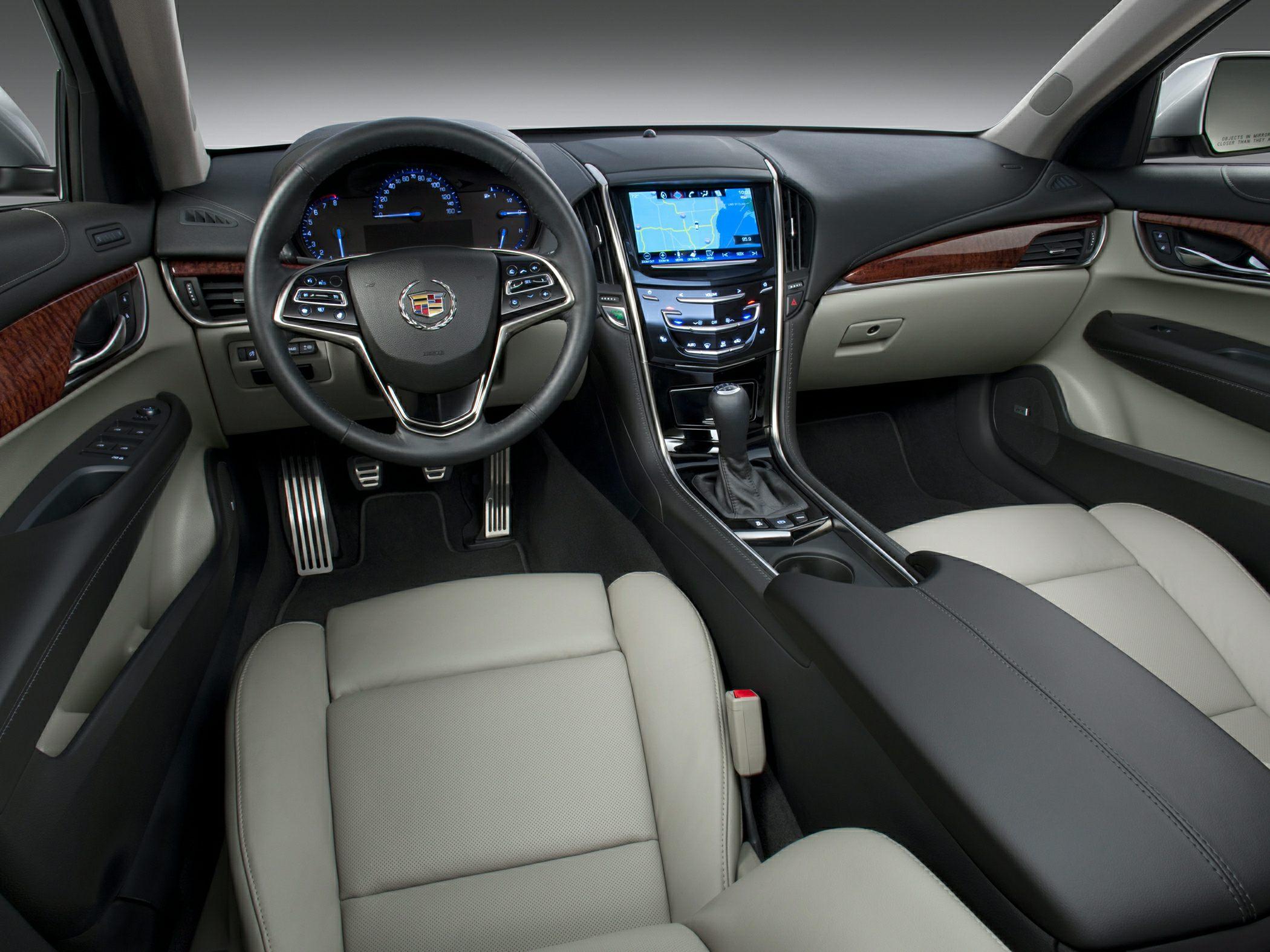 Cadillac ATS I 2012 - 2014 Sedan :: OUTSTANDING CARS