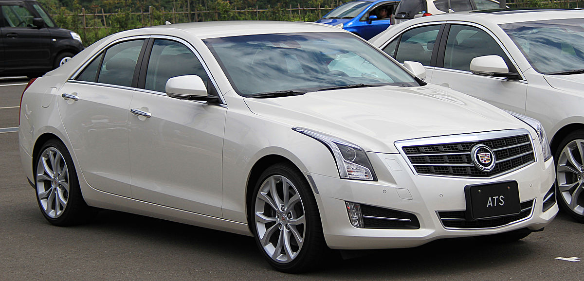 Cadillac ATS I Restyling 2014 - now Sedan :: OUTSTANDING CARS