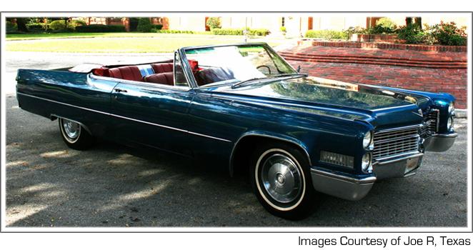 Cadillac DeVille III 1965 - 1970 Cabriolet #6