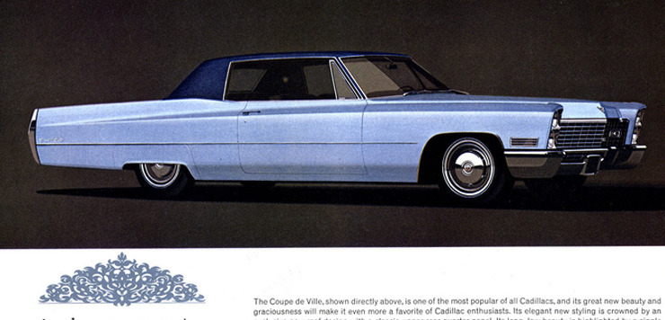 Cadillac DeVille III 1965 - 1970 Coupe #5