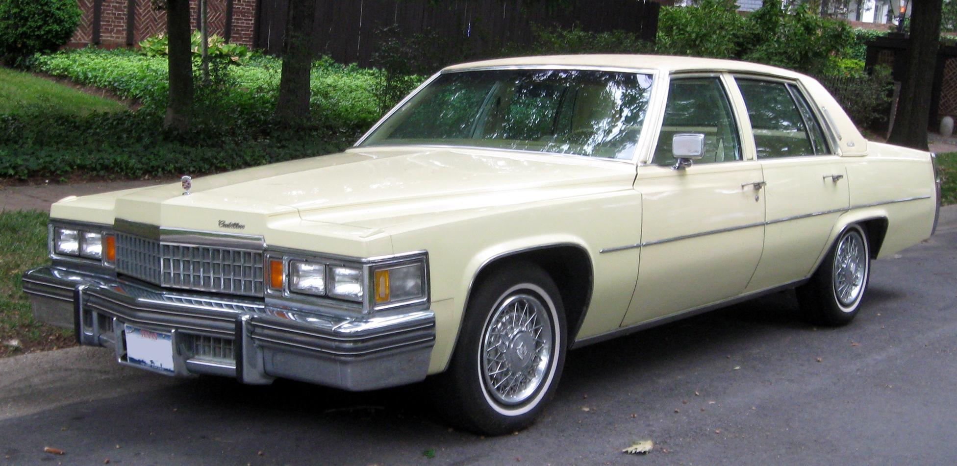 Cadillac DeVille V 1977 - 1984 Sedan #4