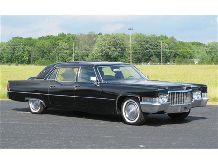 Cadillac Fleetwood 75 Series 1956 - 1976 Sedan #8