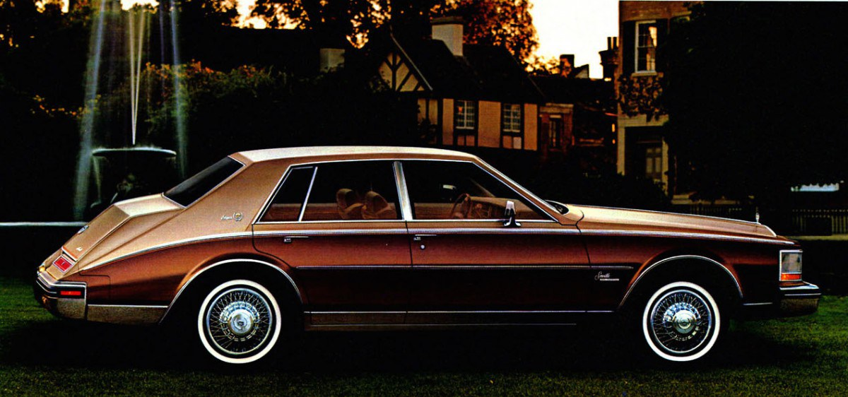 Cadillac Seville II 1980 - 1985 Sedan :: OUTSTANDING CARS