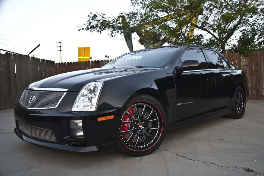 Cadillac Sts I Restyling 2007 2011 Sedan Outstanding Cars