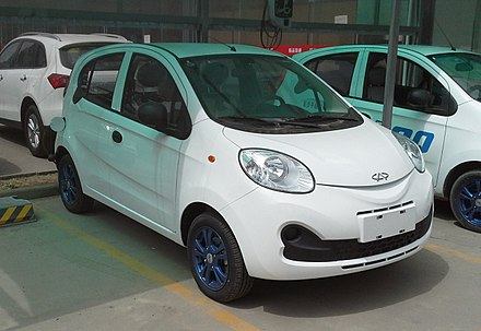 Chery QQme I 2009 - 2011 Hatchback 3 door #8