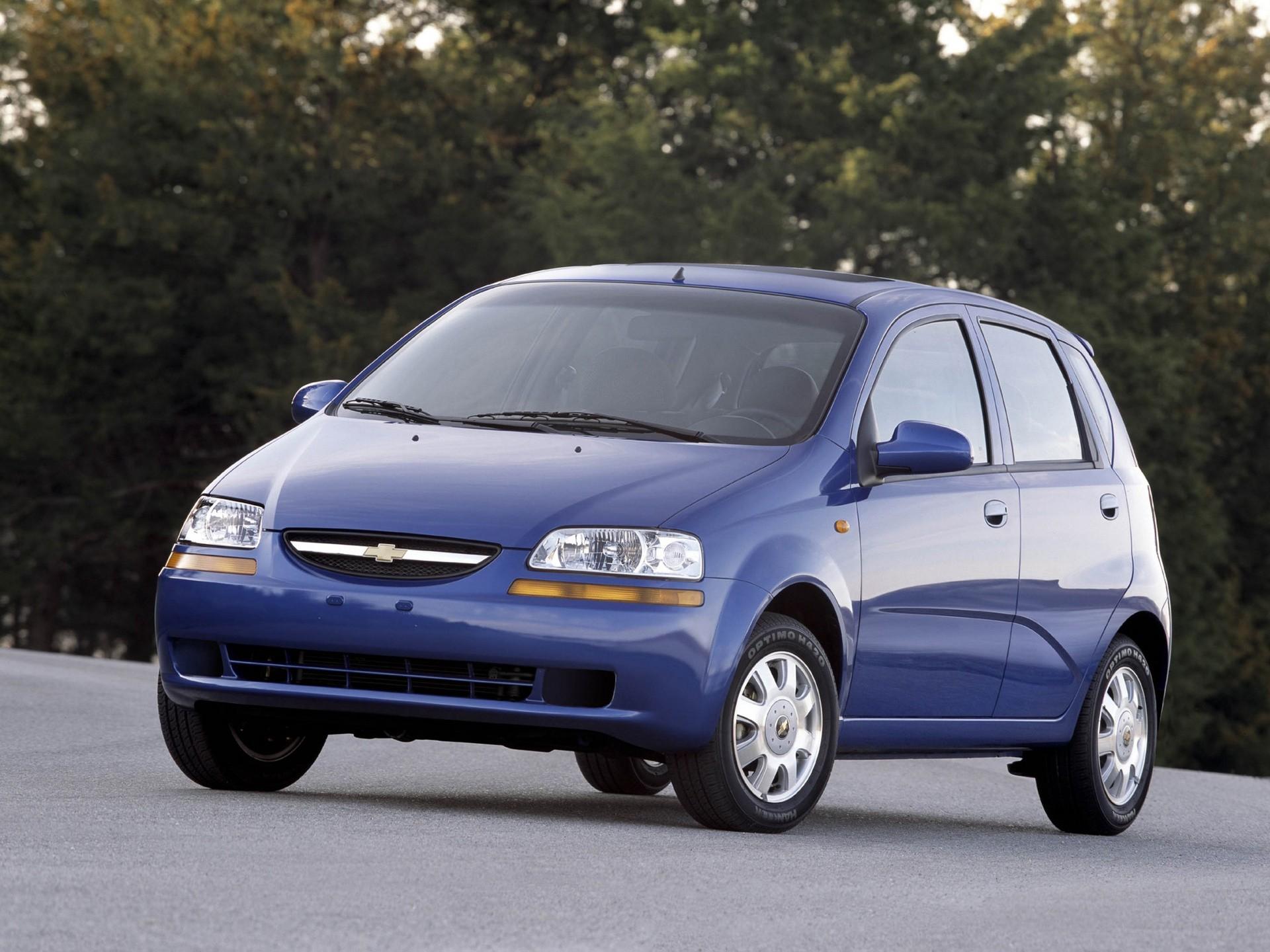 Chevrolet Aveo I 2003 2008 Hatchback 5 Door Outstanding Cars
