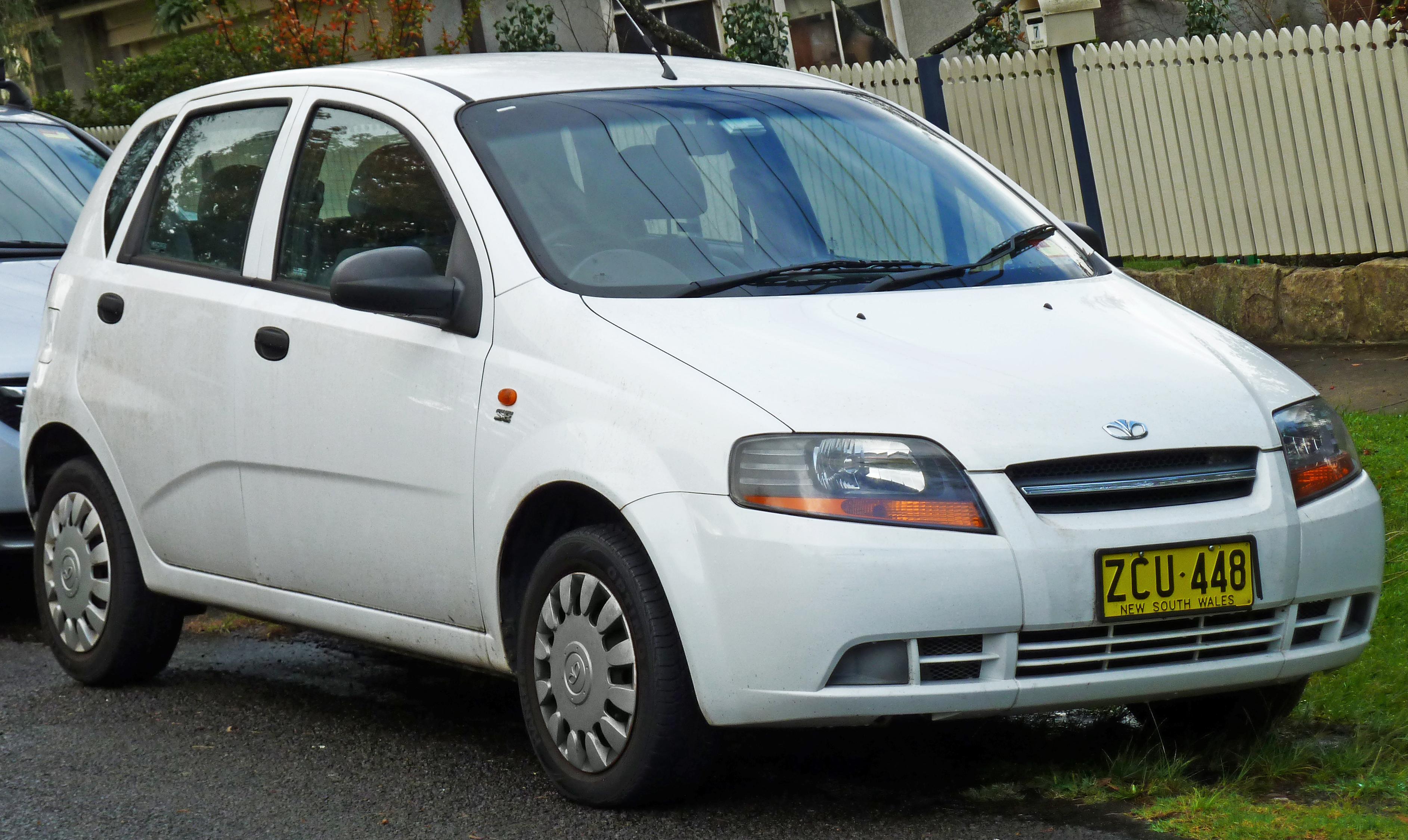 Chevrolet Aveo I Restyling 2006 - 2011 Hatchback 3 door ...