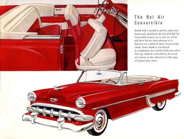 Chevrolet Bel Air I 1949 - 1954 Cabriolet #3