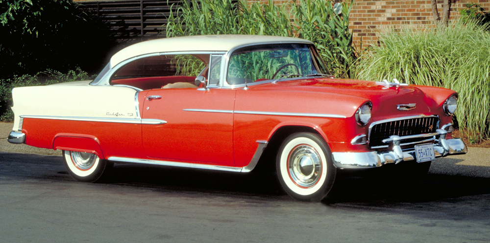 Chevrolet Bel Air II 1955 - 1957 Coupe :: OUTSTANDING CARS