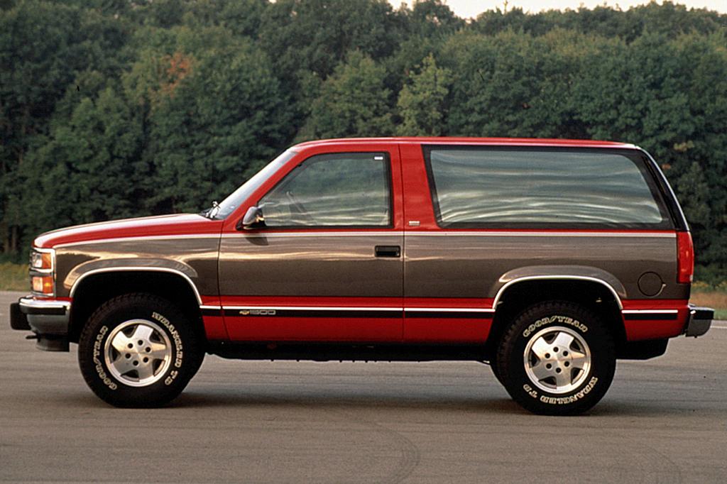 Chevrolet Blazer Ii 1995 1997 Suv 5 Door Outstanding Cars border=