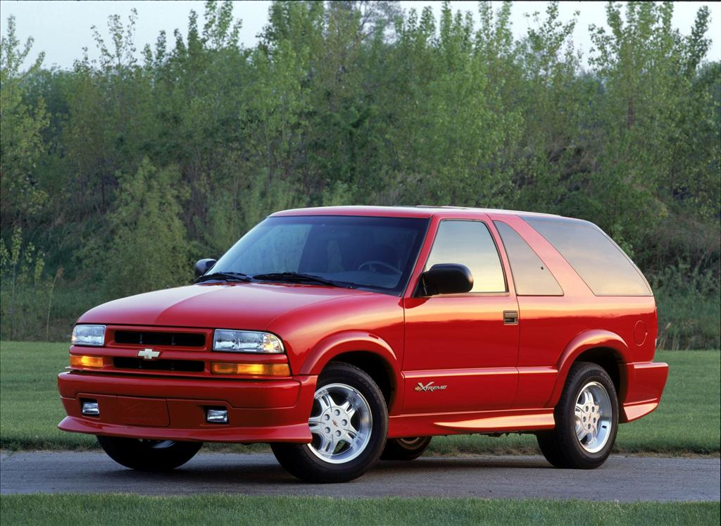 Chevrolet Blazer II Restyling 1997 - 2005 SUV 3 door #5