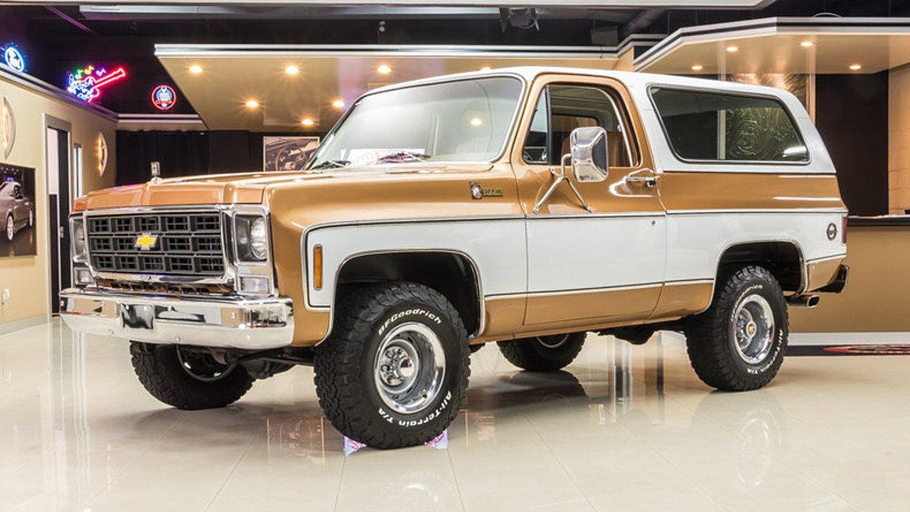 Chevrolet Blazer K5 II 1972 - 1991 SUV 3 door ...