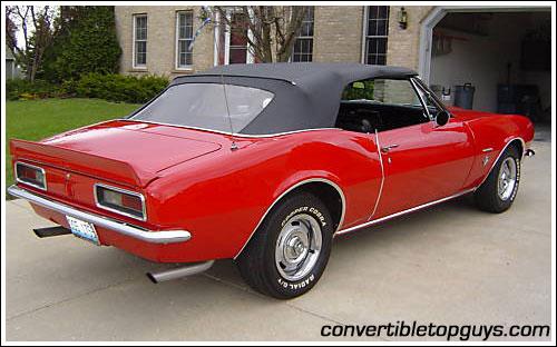 Chevrolet Camaro I 1967 - 1969 Cabriolet #3