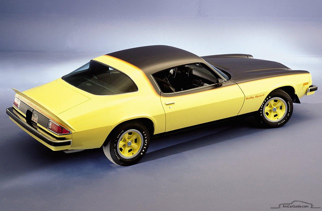 Chevrolet Camaro II 1970 - 1981 Coupe #6
