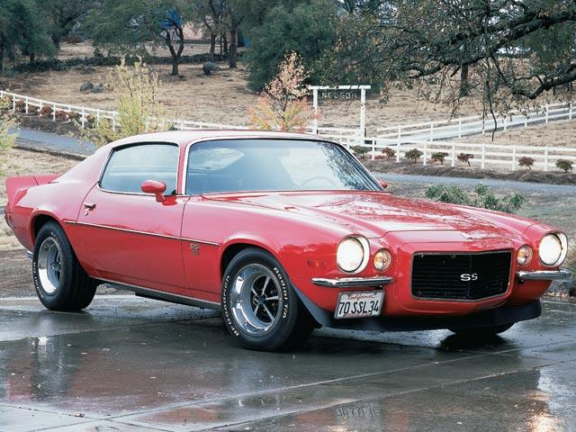 Chevrolet Camaro II 1970 - 1981 Coupe #4
