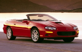 Chevrolet Camaro IV Restyling 1998 - 2002 Coupe #3
