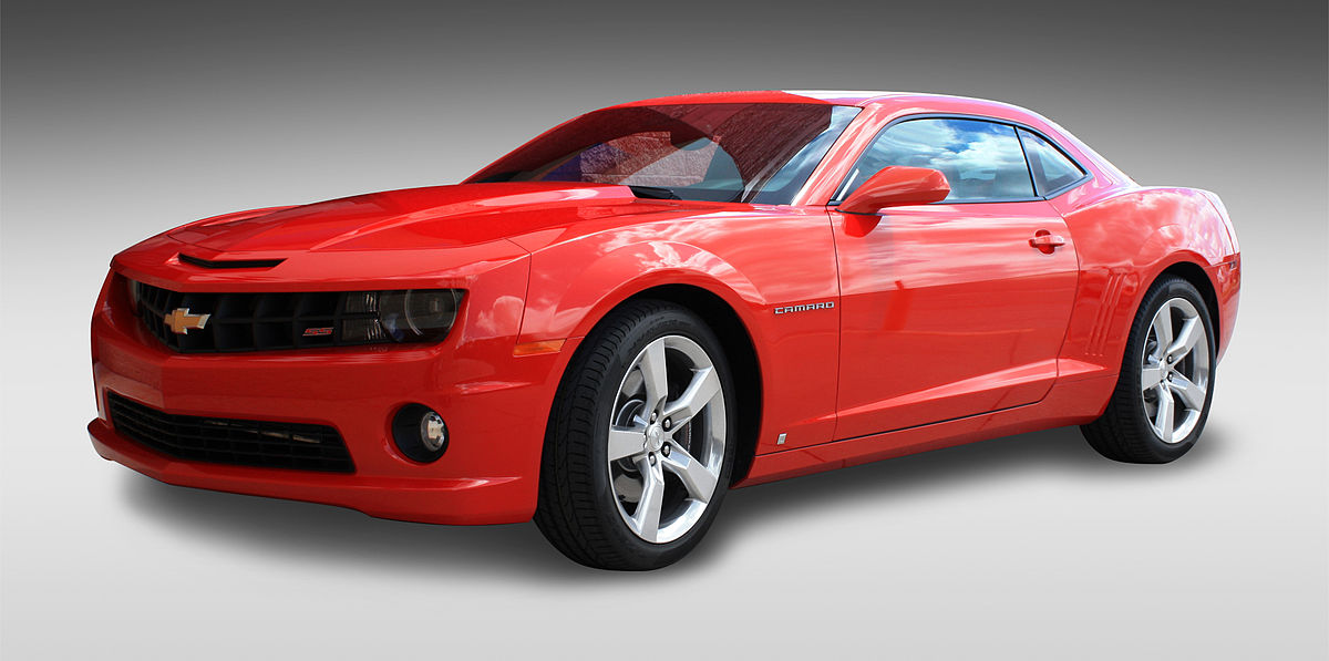 Chevrolet Camaro V 2009 - 2013 Coupe #8