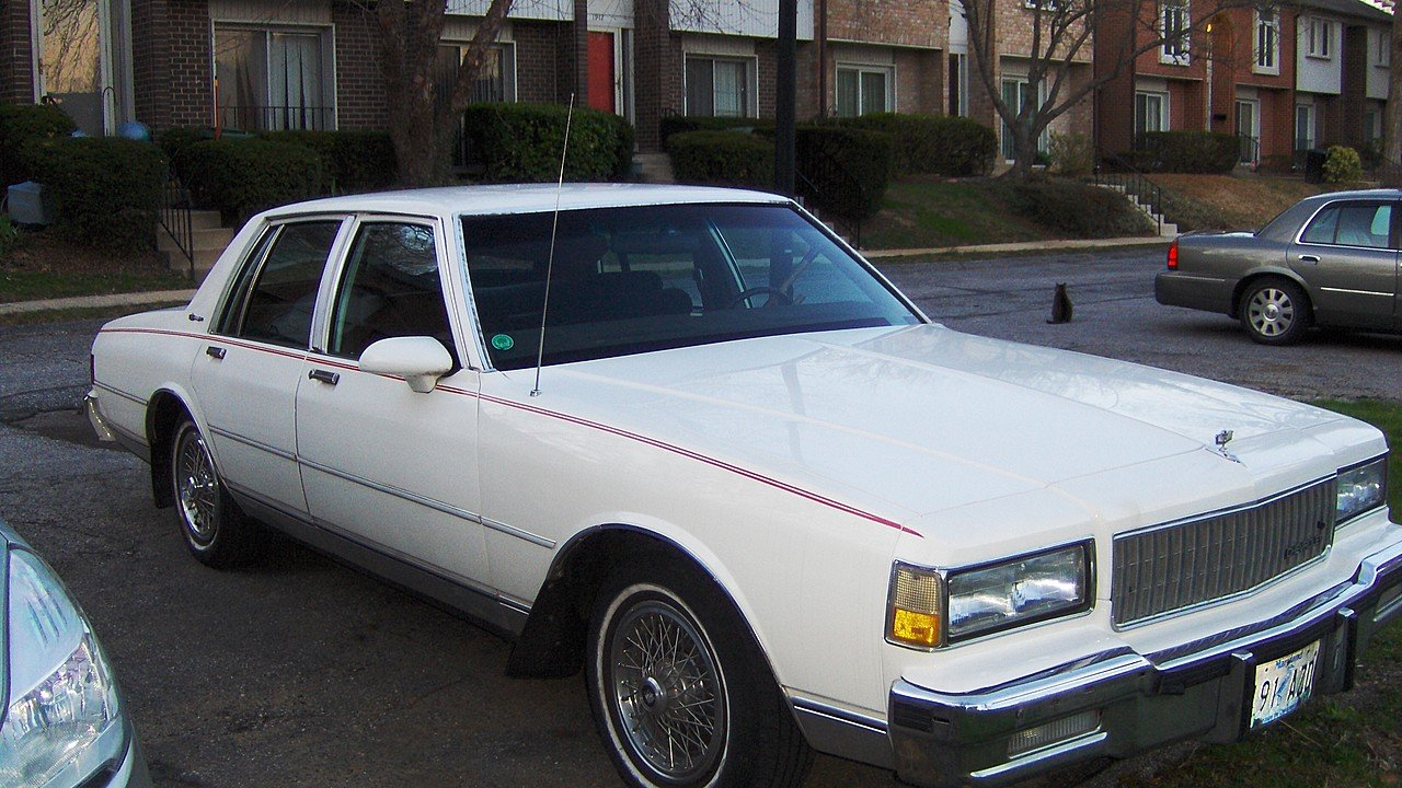 Chevrolet Caprice Iii 1976 1990 Sedan Outstanding Cars