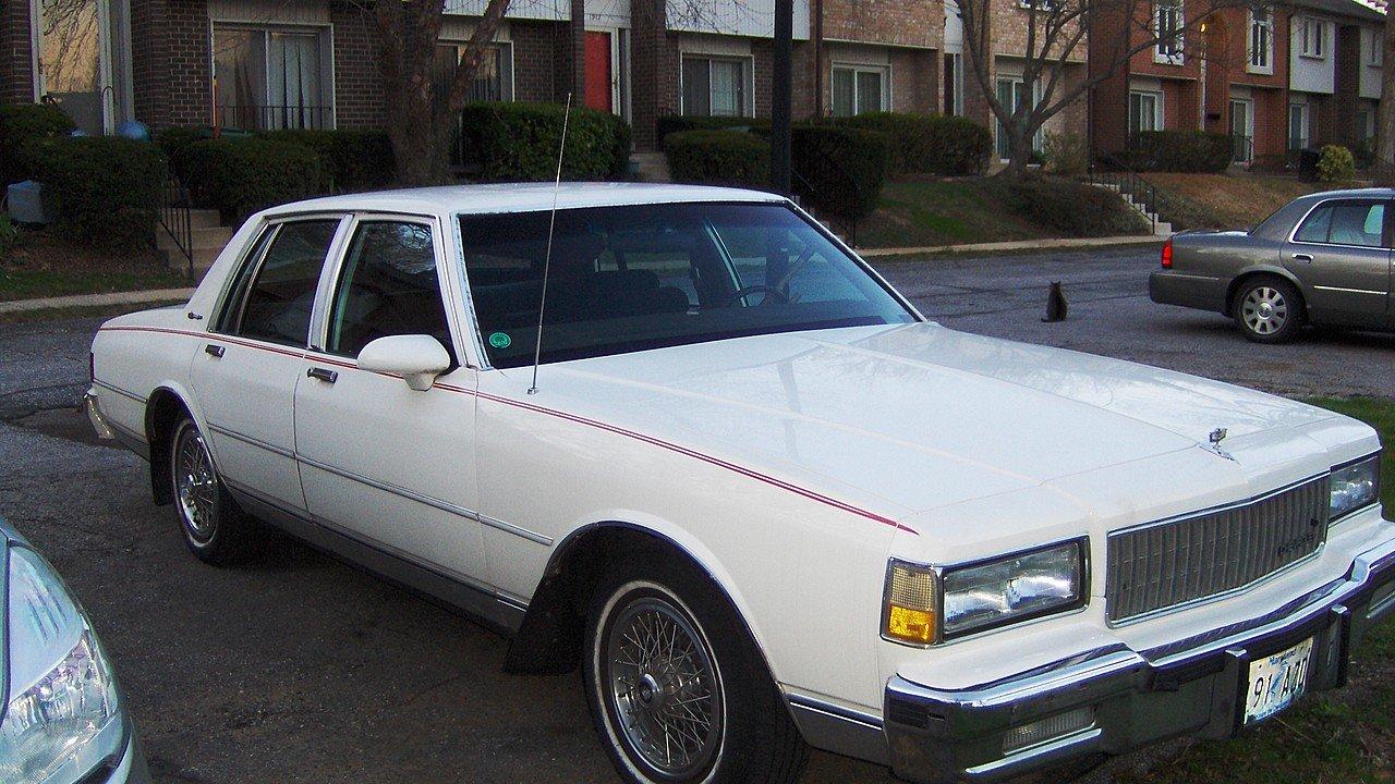 Chevrolet Caprice Iii 1976 1990 Sedan Outstanding Cars