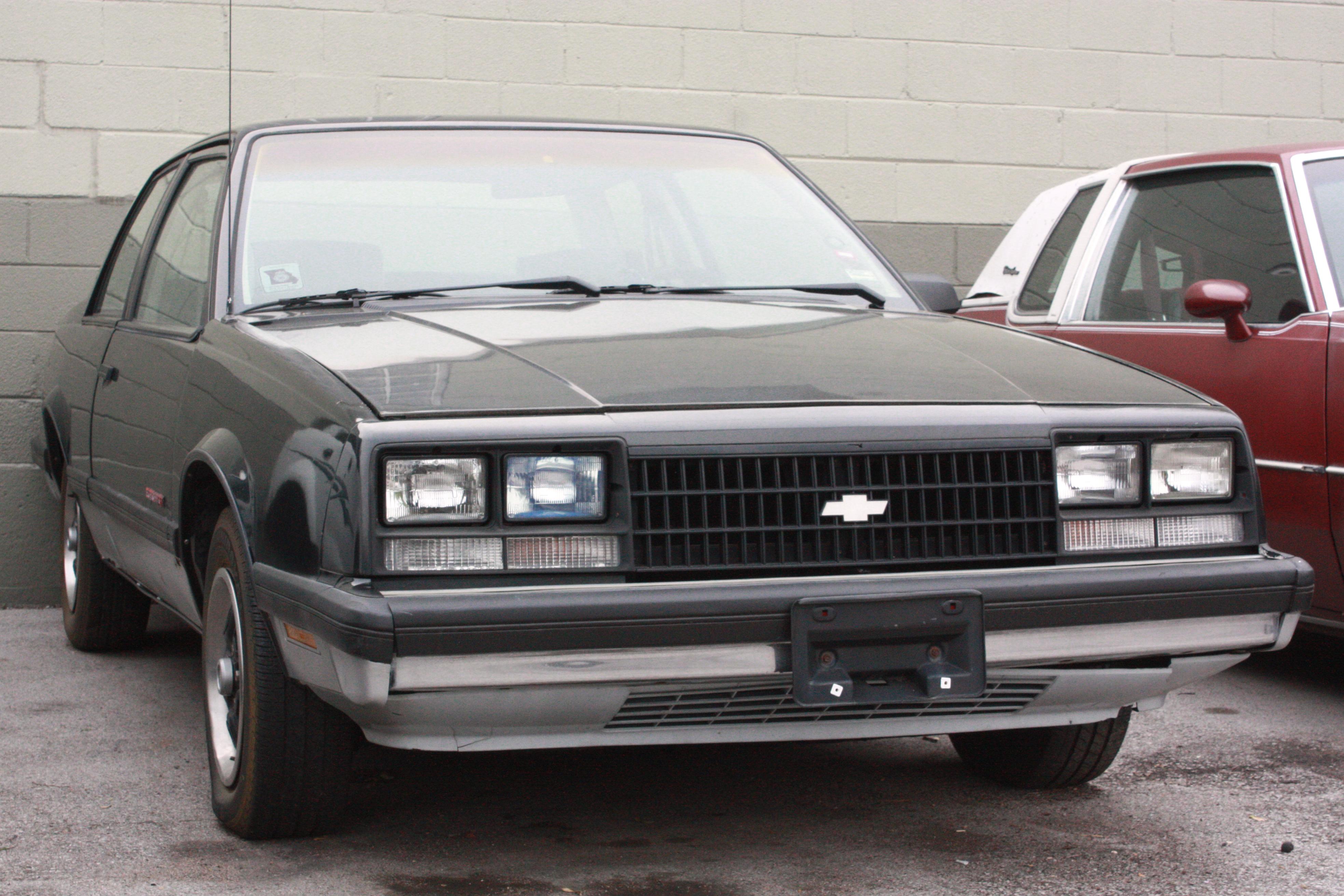 Chevrolet Celebrity 1982 - 1990 Sedan #3