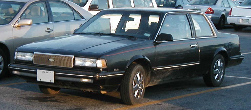Chevrolet Celebrity 1982 - 1990 Sedan #2