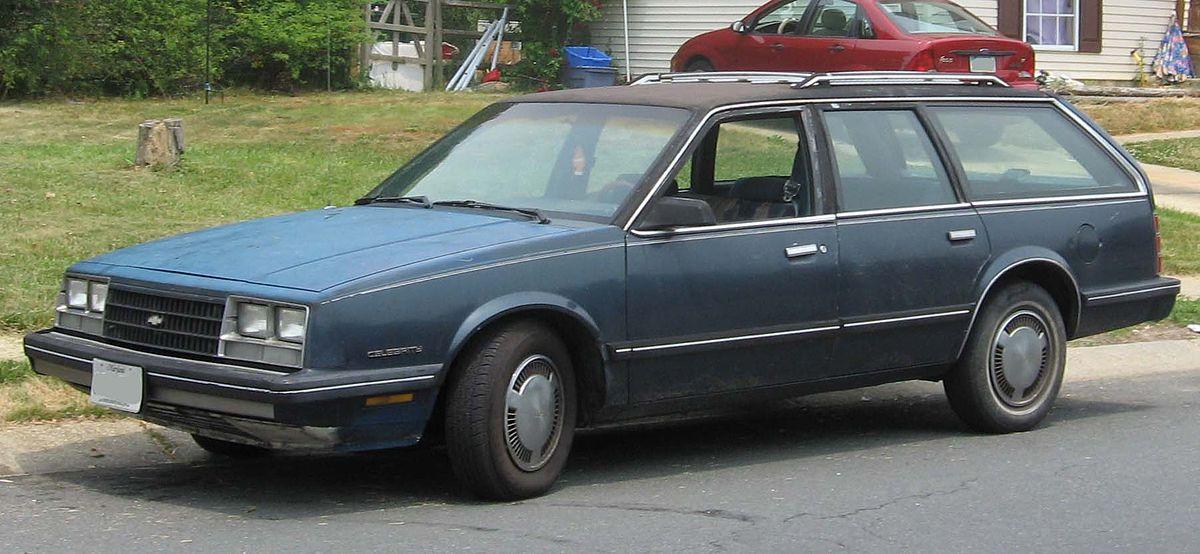 Chevrolet Celebrity 1982 - 1990 Sedan #5