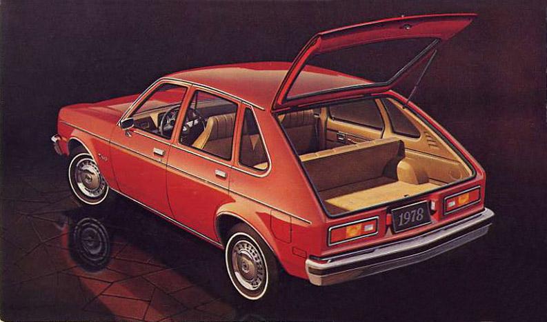 Chevrolet Chevette 1975 - 1987 Hatchback 5 door #5