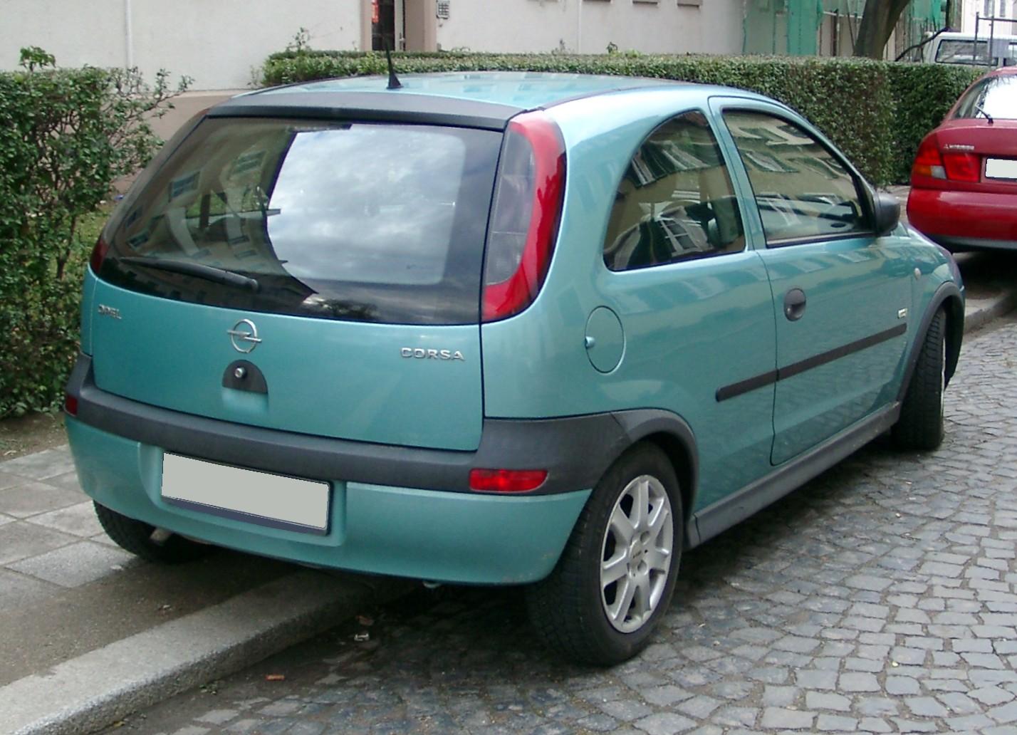 Chevrolet Corsa 1994 - 2001 Hatchback 3 door #1