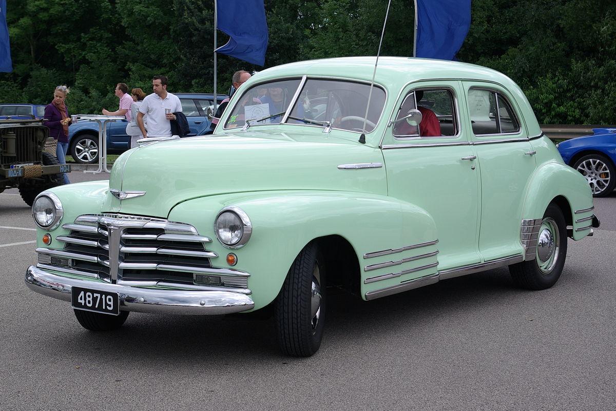 Chevrolet Special DeLuxe 1941 - 1948 Sedan #6